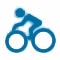 Bike Hike Icon
