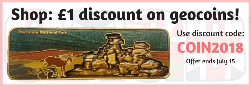 GAGB Geocoin Discount 2018